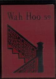 Page 1, 1959 Edition, Allegheny High School - Wah Hoo Yearbook (Pittsburgh, PA) online yearbook collection