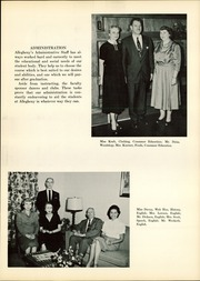 Page 11, 1959 Edition, Allegheny High School - Wah Hoo Yearbook (Pittsburgh, PA) online yearbook collection