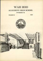 Page 5, 1959 Edition, Allegheny High School - Wah Hoo Yearbook (Pittsburgh, PA) online yearbook collection