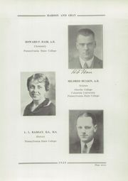 Page 11, 1929 Edition, State College High School - Little Lion Yearbook (State College, PA) online yearbook collection