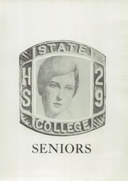 Page 13, 1929 Edition, State College High School - Little Lion Yearbook (State College, PA) online yearbook collection