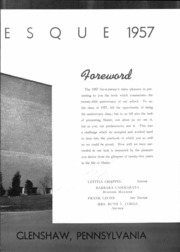 Page 5, 1957 Edition, Shaler High School - Shaleresque Yearbook (Pittsburgh, PA) online yearbook collection
