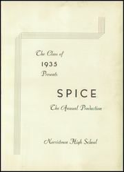 Page 5, 1935 Edition, Norristown Area High School - Spice Yearbook (Norristown, PA) online yearbook collection