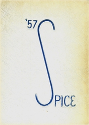 Page 1, 1957 Edition, Norristown Area High School - Spice Yearbook (Norristown, PA) online yearbook collection