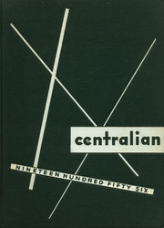 1956 Edition, Central Dauphin High School - Centralian Yearbook (Harrisburg, PA)