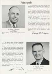 Page 15, 1962 Edition, Central Dauphin High School - Centralian Yearbook (Harrisburg, PA) online yearbook collection