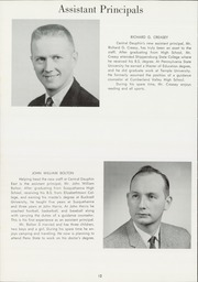 Page 16, 1962 Edition, Central Dauphin High School - Centralian Yearbook (Harrisburg, PA) online yearbook collection