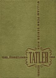 1953 Edition, William Penn High School - Tatler Yearbook (York, PA)