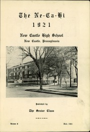 Page 5, 1921 Edition, New Castle High School - Ne Ca Hi Yearbook (New Castle, PA) online yearbook collection