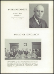 Page 11, 1954 Edition, New Castle High School - Ne Ca Hi Yearbook (New Castle, PA) online yearbook collection