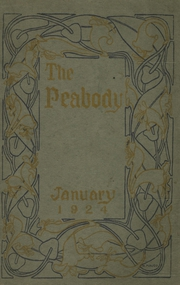 Page 1, 1924 Edition, Peabody High School - Peabody Yearbook (Pittsburgh, PA) online yearbook collection