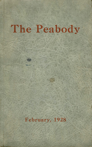 Page 1, 1928 Edition, Peabody High School - Peabody Yearbook (Pittsburgh, PA) online yearbook collection
