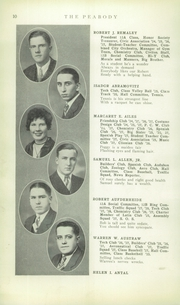 Page 12, 1928 Edition, Peabody High School - Peabody Yearbook (Pittsburgh, PA) online yearbook collection