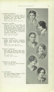 Page 13, 1928 Edition, Peabody High School - Peabody Yearbook (Pittsburgh, PA) online yearbook collection