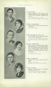 Page 14, 1928 Edition, Peabody High School - Peabody Yearbook (Pittsburgh, PA) online yearbook collection