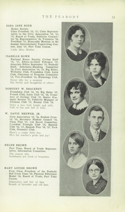 Page 15, 1928 Edition, Peabody High School - Peabody Yearbook (Pittsburgh, PA) online yearbook collection