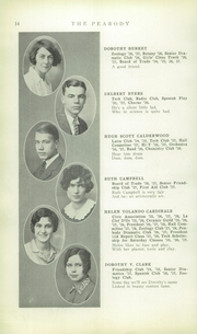 Page 16, 1928 Edition, Peabody High School - Peabody Yearbook (Pittsburgh, PA) online yearbook collection