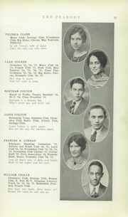 Page 17, 1928 Edition, Peabody High School - Peabody Yearbook (Pittsburgh, PA) online yearbook collection