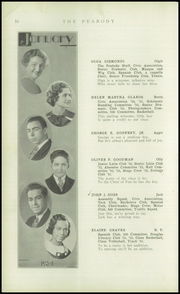 Page 18, 1934 Edition, Peabody High School - Peabody Yearbook (Pittsburgh, PA) online yearbook collection
