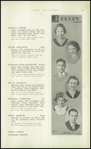 Page 19, 1934 Edition, Peabody High School - Peabody Yearbook (Pittsburgh, PA) online yearbook collection