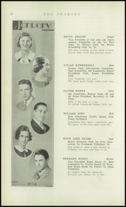 Page 22, 1934 Edition, Peabody High School - Peabody Yearbook (Pittsburgh, PA) online yearbook collection