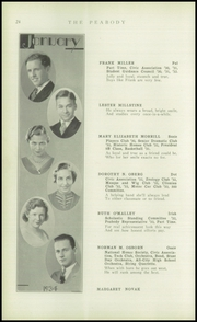 Page 26, 1934 Edition, Peabody High School - Peabody Yearbook (Pittsburgh, PA) online yearbook collection