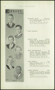 Page 28, 1934 Edition, Peabody High School - Peabody Yearbook (Pittsburgh, PA) online yearbook collection
