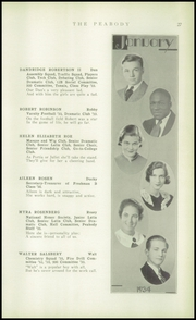 Page 29, 1934 Edition, Peabody High School - Peabody Yearbook (Pittsburgh, PA) online yearbook collection