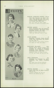 Page 30, 1934 Edition, Peabody High School - Peabody Yearbook (Pittsburgh, PA) online yearbook collection