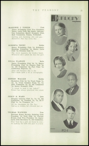 Page 33, 1934 Edition, Peabody High School - Peabody Yearbook (Pittsburgh, PA) online yearbook collection