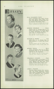 Page 34, 1934 Edition, Peabody High School - Peabody Yearbook (Pittsburgh, PA) online yearbook collection