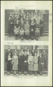 Page 61, 1934 Edition, Peabody High School - Peabody Yearbook (Pittsburgh, PA) online yearbook collection