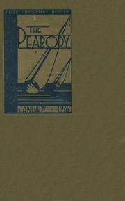 Page 1, 1936 Edition, Peabody High School - Peabody Yearbook (Pittsburgh, PA) online yearbook collection