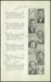 Page 15, 1936 Edition, Peabody High School - Peabody Yearbook (Pittsburgh, PA) online yearbook collection