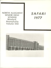 Page 5, 1977 Edition, North Allegheny High School - Safari Yearbook (Wexford, PA) online yearbook collection