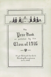 Page 7, 1916 Edition, Philadelphia High School for Girls - Milestone Yearbook (Philadelphia, PA) online yearbook collection