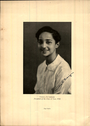 Page 16, 1932 Edition, Philadelphia High School for Girls - Milestone Yearbook (Philadelphia, PA) online yearbook collection