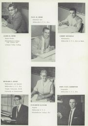 Page 17, 1958 Edition, Hempfield High School - Epilogue Yearbook (Landisville, PA) online yearbook collection