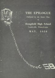 Page 5, 1958 Edition, Hempfield High School - Epilogue Yearbook (Landisville, PA) online yearbook collection