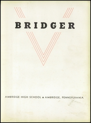 Page 9, 1943 Edition, Ambridge Area High School - Bridger Yearbook (Ambridge, PA) online yearbook collection