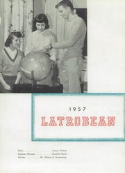 Page 5, 1957 Edition, Greater Latrobe High School - Latrobean Yearbook (Latrobe, PA) online yearbook collection