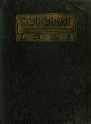 Page 1, 1921 Edition, Anderson College - Columns / Sororian Yearbook (Anderson, SC) online yearbook collection