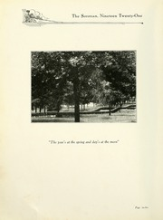 Page 14, 1921 Edition, Anderson College - Columns / Sororian Yearbook (Anderson, SC) online yearbook collection