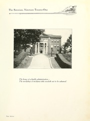 Page 15, 1921 Edition, Anderson College - Columns / Sororian Yearbook (Anderson, SC) online yearbook collection