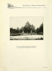 Page 16, 1921 Edition, Anderson College - Columns / Sororian Yearbook (Anderson, SC) online yearbook collection