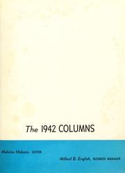 Page 5, 1942 Edition, Anderson College - Columns / Sororian Yearbook (Anderson, SC) online yearbook collection