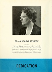 Page 8, 1942 Edition, Anderson College - Columns / Sororian Yearbook (Anderson, SC) online yearbook collection