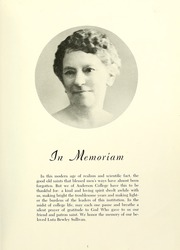 Page 9, 1945 Edition, Anderson College - Columns / Sororian Yearbook (Anderson, SC) online yearbook collection