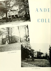 Page 10, 1946 Edition, Anderson College - Columns / Sororian Yearbook (Anderson, SC) online yearbook collection