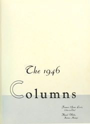 Page 5, 1946 Edition, Anderson College - Columns / Sororian Yearbook (Anderson, SC) online yearbook collection